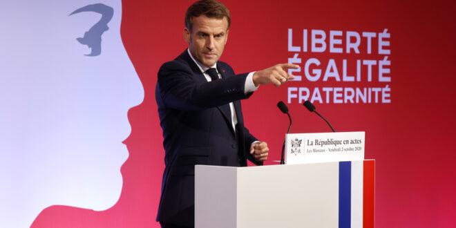 7800874230 emmanuel macron prononce un discours sur les separatismes vendredi 2 octobre 2020